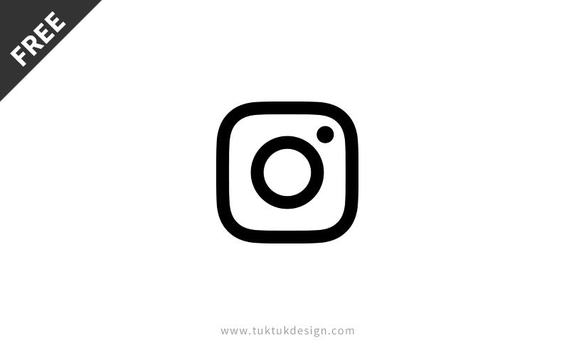 New Instagram Icon Symbol Free Vector Image Tuktuk Design